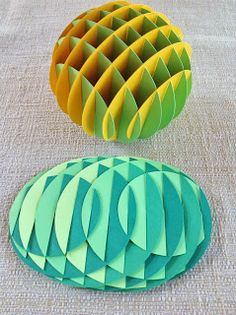 Papercrafts and other fun things: Sliceforms