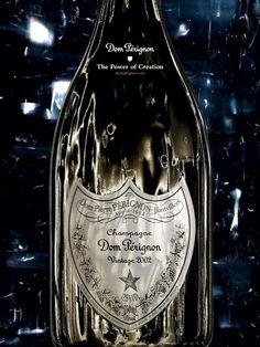 David Lynch, working in a California studio transformed into a darkroom, spent two days contemplating the timeless silhouette of the Dom Pérignon bottle. In those 48 hours, he invented stories, created sets and cobbled together strange theatrical machinery - and took many, many photos. In the end, this massive trove was culled to just two precious images, a distillation, if you like, of his journey into Dom Pérignon.