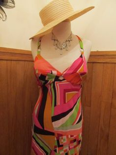 Sexy Sue Wong 70's looking Silk Dress on Etsy, $40.00