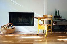 BLEUBIRD - yellow desk...