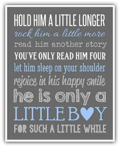 Hold him a little longer