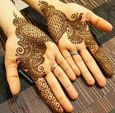 Explore latest Mehndi Designs images in 2019 on Happy Shappy. Mehendi design is also known as the heena design or henna patterns worldwide. We are here with the best mehndi designs images from worldwide. Dulhan Mehndi Designs, Mehandi Designs, Mehndi Designs 2018, Mehndi Designs For Girls, Mehndi Designs For Beginners, Modern Mehndi Designs, Wedding Mehndi Designs, Wedding Henna, Bridal Mehndi