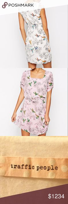 Coming Soon! Traffic People Whisper Dress in white ASOS Traffic People.   Gorgeous. Birds of a feather Whisper Dress. So pretty and flirty.  Like this listing for updates and pricing. ASOS Dresses