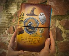 2020 Home Sanati Factory Ukrainian Brands - Sanati Factory Leather Books, Leather Notebook, Leather Journal, Custom Journals, Handmade Journals, Personalized Journals, Harry Potter Gifts, Harry Potter Fandom, Leather Sketchbook