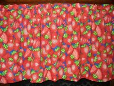 Strawberry Strawberries red fruit country by yoursewingroom