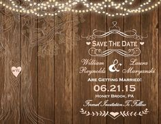 Our Save the Date ❤️