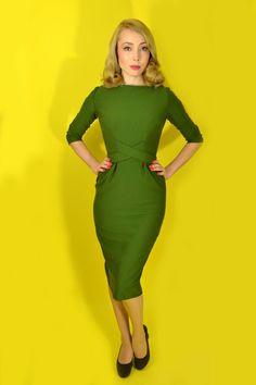 1950s Joan Wiggle Dress – Atypical Girl