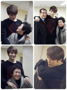 Kim Jaejoong's Sister @kkjj4 Twitter Update:  [TRANS] Jaejoongie's birthday party has ended and a cut with our parents ♡♡