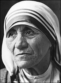 Madre Tereza de Calcutá - Inspiration