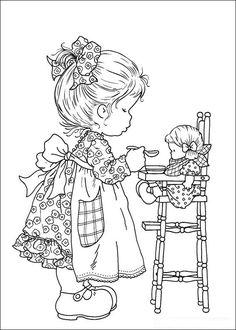Sarah Kay Kleurplaten voor kinderen. Kleurplaat en afdrukken tekenen nº 9