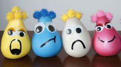 Kids craft idea: Wacky sacks