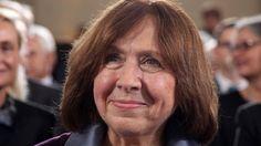 Belarusian Svetlana Alexievich wins the 2015 Nobel Prize for literature.