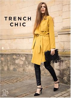 #Trench #chic #Bloggerstyle #simpleetchic #blogger #outfit