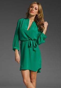 Wear to work, dinner, brunch... Everyday dress. Love this color
