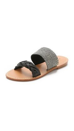 00a88dff5d6 Soludos Braided Slide Sandals