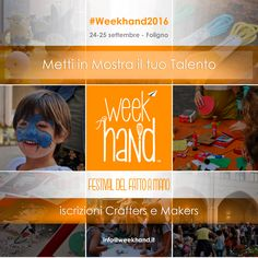 #weekhand2016 call to crafter and makers