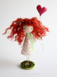 crazy little redhead | by be cheery (lollipop workshop)