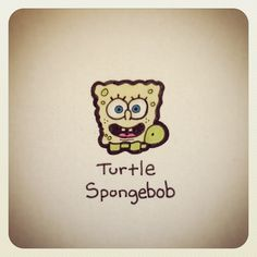 Turtle Spongebob #turtleadayjuly - @turtlewayne- #webstagram