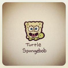 Turtle Spongebob #turtleadayjuly - @turtlewayne- #webstagram