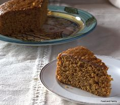 Old-fashioned Ginger Cake -  my favourite everyday cake http://food-and-family.blogspot.com/2013/09/old-fashioned-ginger-cake.html
