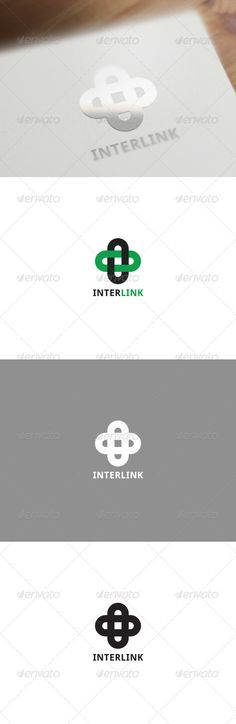 Interlink Corporate Logo - GraphicRiver Item for Sale