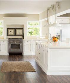 Country White Kitchen Ideas 6131 bianco drift - caesarstone's own interpretation of a granite