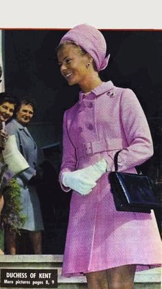 1969 The Duchess of Kent visits Australia