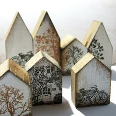 Wood Block Crafts, Barn Wood Crafts, Scrap Wood Projects, Diy Projects To Try, Christmas Wood, Christmas Crafts, Diy Arts And Crafts, Diy Crafts, Shape Crafts