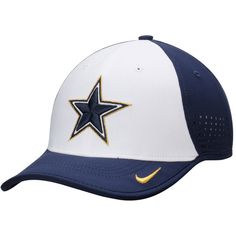 Dallas Cowboys Nike Gold Collection Legacy Vapor Performance Adjustable Hat  - Navy White 82b0cc9af89e