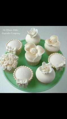 Wedding cup-cakes
