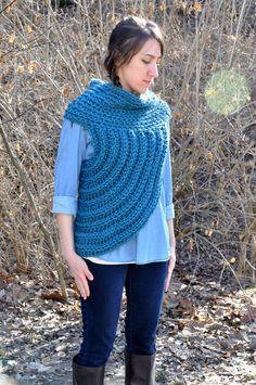 Handmade Crochet Katniss Cowl by BrittanysButtonsCoMO on Etsy