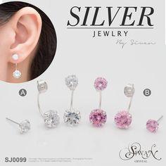 Silver Jewellery - CZ Diamonds