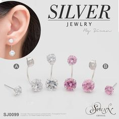 Silver Jewellery - CZ Diamonds