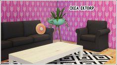 IKEA Ektorp Ikea Ektorp seatings converted from Ts2 IKEA stuff pack, set includes: • Ektorp armchair • Ektorp loveseat • Ektorp sofa All come in 16 colors, eversims and 3 originals. Credit: eversims...