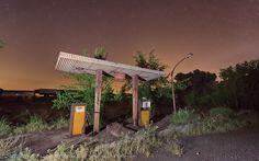 Gasolinera en minas de Alquife