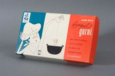 Van Rex Bouquet Garni Packaging c1950's by Javier Garcia Design, via Flickr