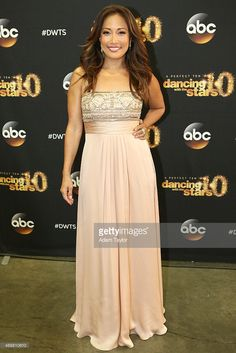 Carrie Ann Inaba in Theia Couture
