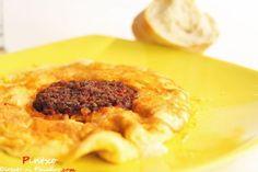 Tortilla de sobrasada y queso de Mahón