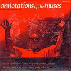 Johnny Richards- Annotations of the Muses. Légende LP 1401 (1955). Design: Burt Goldblatt.