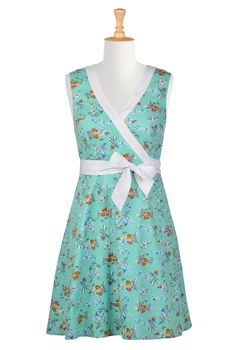 Floral print banded trim wrap dress. A surplice bodice with contrast banded poplin trim lends updated appeal to our floral cotton print dress - See more at: http://spenditonthis.com/listing-42259-floral-print-banded-trim-wrap-dress.html#sthash.qtYWPjvC.dpuf