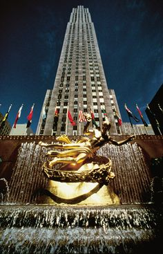 pictures of the atlas at the rockefeller center new york | Rockefeller Center: La Atlántida Global y sus símbolos