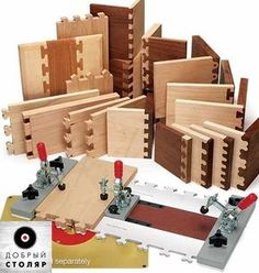 Photo Woodworking Skills, Diy Woodworking, Dovetail Jig, Router Cutters, Router Jig, Wood Shop Projects, Wood Joints, Assemblages Bois, Wood Tools