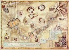 MYST map to D'ni. Have it on my wall. ^_^