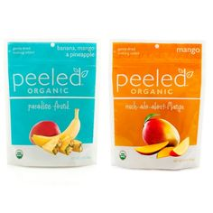 Three mango packs, three tropical mix packs: you'll taste island paradise in this Just Peeled pack.