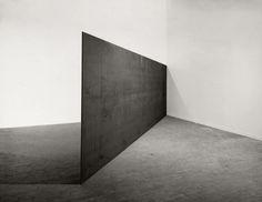 "// Richard Serra, ""Strike: To Roberta and Rudy,"" 1969–71"