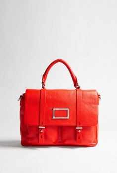 Top Handle Leather Satchel by Marc By Marc Jacobs