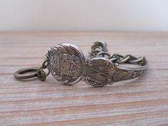 Maine Souvenir Spoon Bracelet by georginabaker on Etsy, $30.00