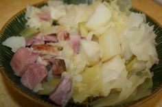 Ham, Cabbage & Potat