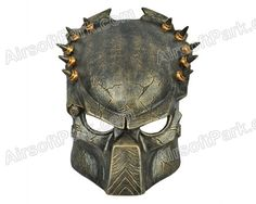 Combat gear, Airsoft Predator Mask Survival Stuff, Survival Gear, Armas Airsoft, Predator Helmet, Airsoft Mask, Combat Training, Tac Gear, Combat Gear, Paintball