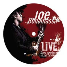 Joe Bonamassa Live From Nowhere in Particular Coaster/Fridge Magnet - This is not your average magnet... or coaster. The dual purpose Joe Bonamassa Coaster/Refrigerator Magnet features artwork from the Live From Nowhere in Particular album. Handmade using an original vintage 33 LP.